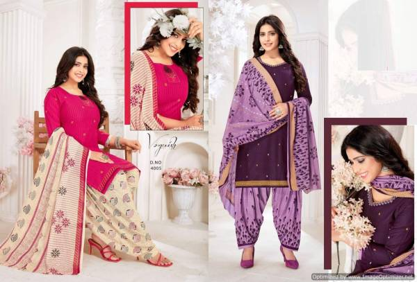 Festival 4 Regular Wear Ready Made Cotton Printed Latest Dress Collection