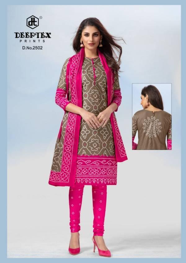 Deeptex Classic Chunaris 25 Latest Casual Wear Printed Cotton Dress Material
