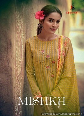 Deepsy Mishka Latest Collection Of Pashmina Dress Material