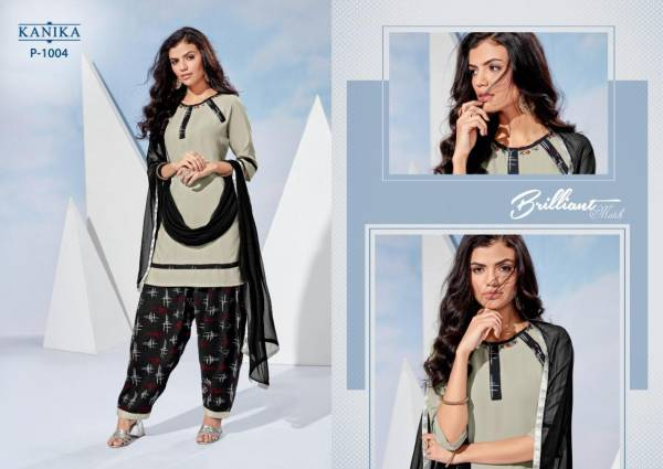 KANIKA Patiyala Queen Reyon Daily Wear Punjabi Patiyala Salwar Suit Collections