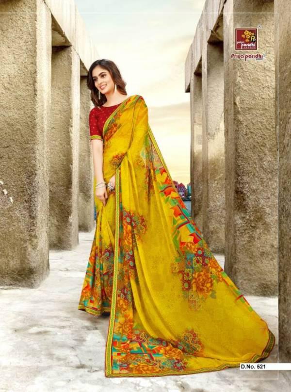 Priya Paridhi Sitafal Latest Designer Daily Wear Saree Collection