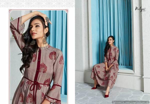Nitya Kaira Vol 2 Nx Latest Designer Fancy Sleeves And Printed Rayon Kurtis Collection