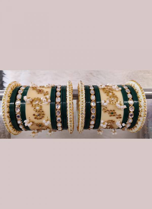 Gorgeous Fancy Bridal  And Party Wear Bangles Collection With Stone Work