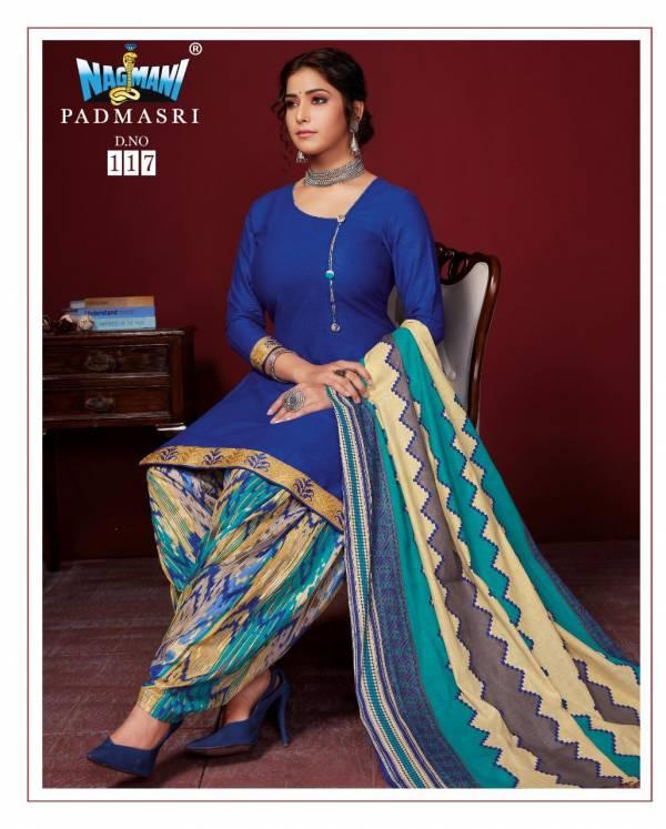 Nagmani Padmashri 11 Latest fancy Regular Casual Wear Printed Cotton Salwar Suit Collection