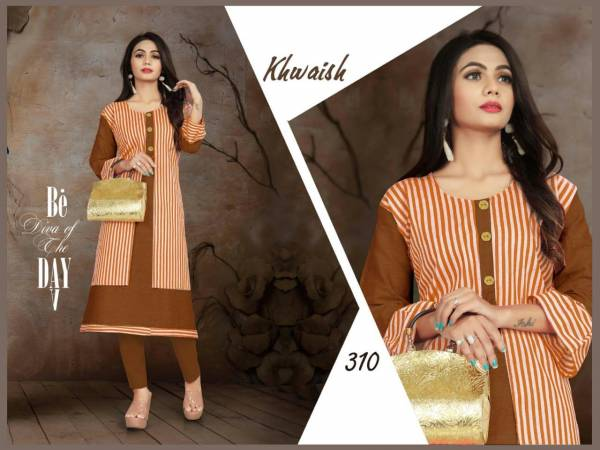 Trendy Aagya Khwaish 3 Festive Daily Wear Kurtis Collection
