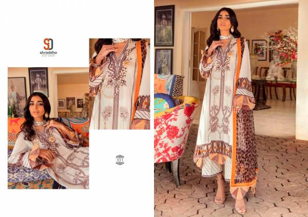 Shraddha Sana Safina Latest Designer Fancy Casual Wear Print Pakistani Salwar Suits Collection