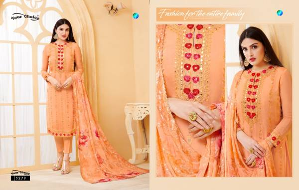 Your Choice Haseen Latest Designer Casual Wear pure viscose Printed Dress Material Collection