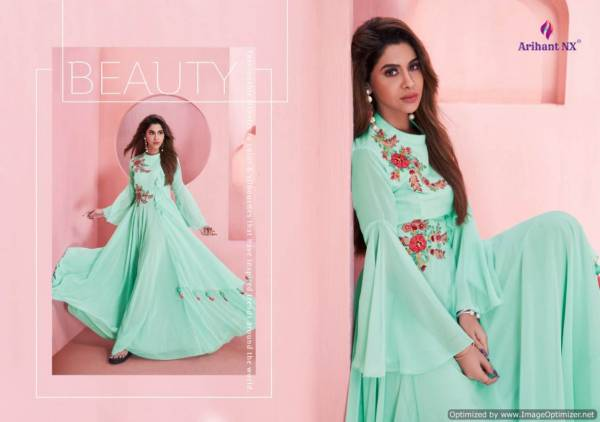 Sui Dhaga Vol-2 Heavy Designer Stylish Party Wear Gown Collection With Embroidery Work