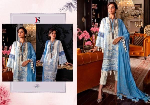 Deepsy Sana Safinaz Lawn 3 Latest Fancy Designer Festive Wear Pure Cotton Pakistani Salwar Suits Collection