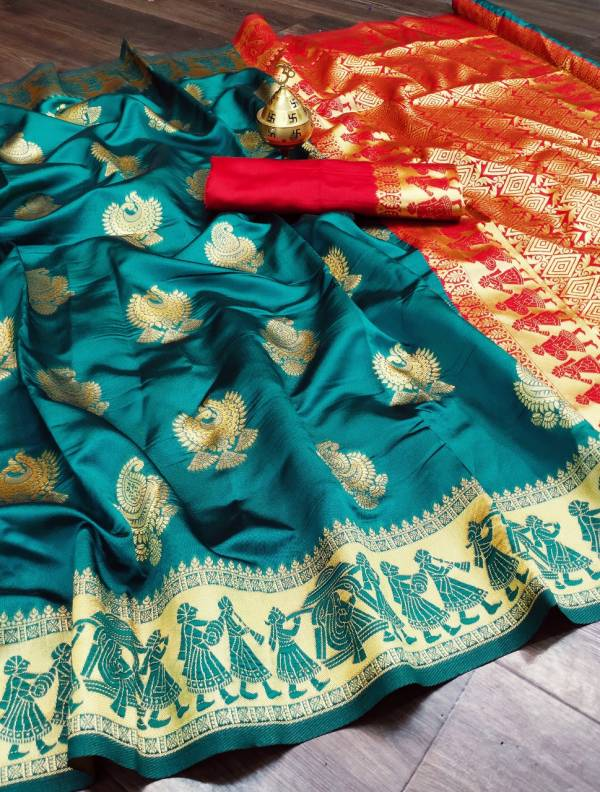 Maahi 6 Banarasi Silk Fancy latest Designer Festive Wear Banarasi Silk Saree Collection