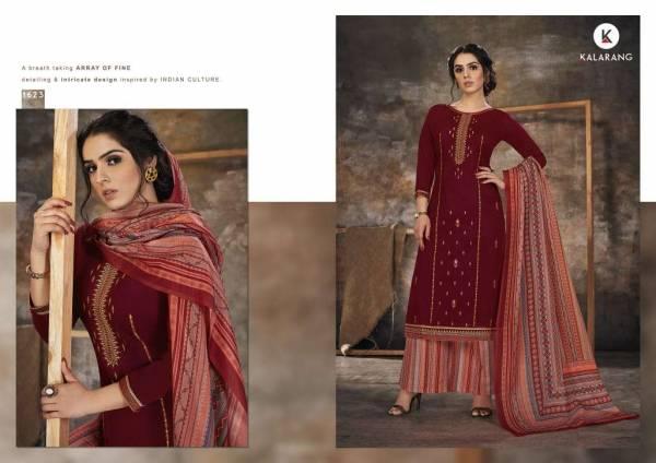 Kalarang Bindiya Latest Launch Of Designer Casual and Party Wear Embroidered Dress Material
