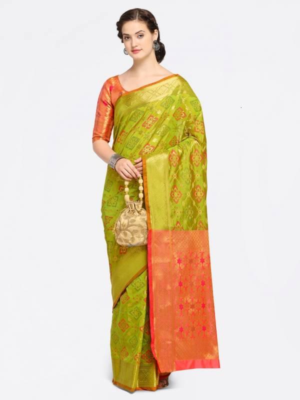 Festive Wear Heavy Designer Silk Saree Collection
