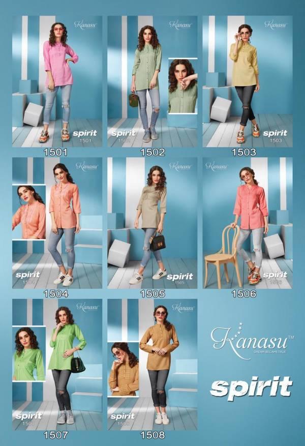 Kanasu New Launch Of Rayon Regular And Casual Wear Short Ladies Top