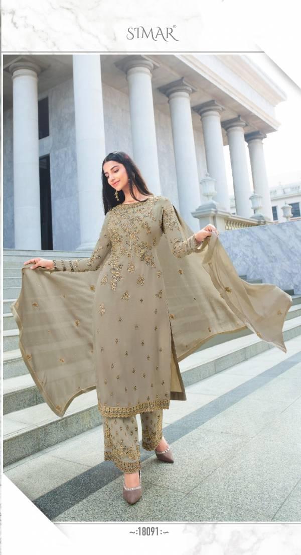 Simar Heenaz Vol 2 Exclusive Designer Party Wear Embroidered Salwar Kameez Collection