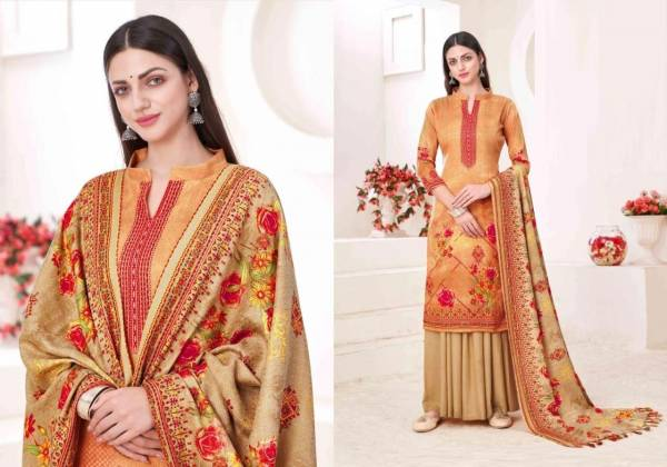 Kashmira Shawl Suits Designer Winter Fancy Pure Cotton Collection Dress Material Collection