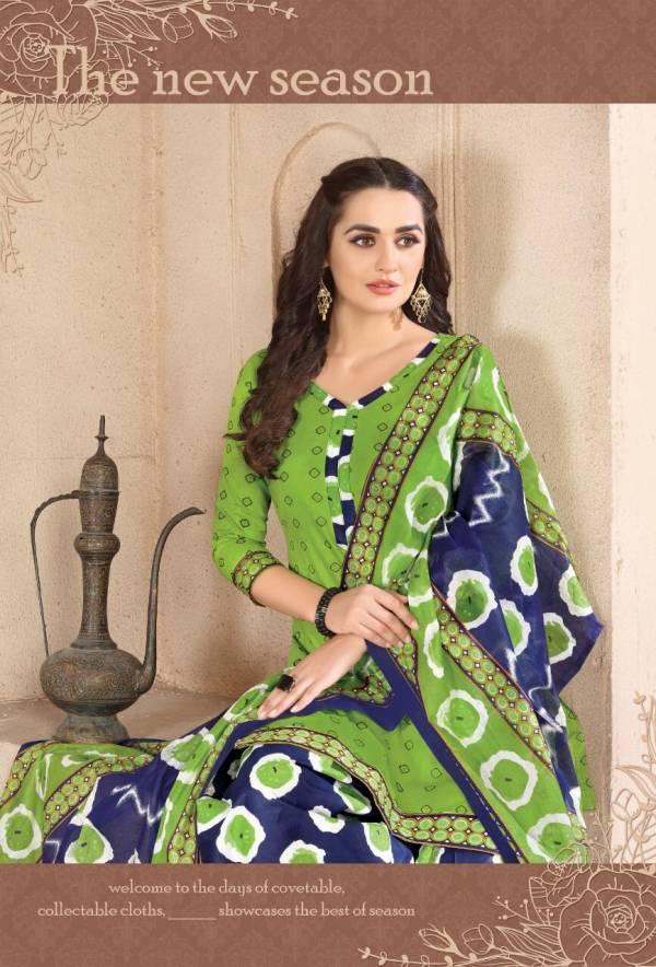 Kismis Latest Designer Cotton Dress Material Collection With Cotton Dupatta