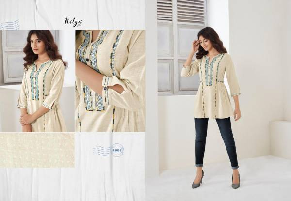 Nitya Essentials  Vol - 4 Latest Designer Fancy Daily Wear Ladies Top Collection