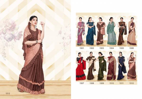 ROYAL TOUCH Bridal and Wedding Designer Imported Fabric Lehenga Saree Collections
