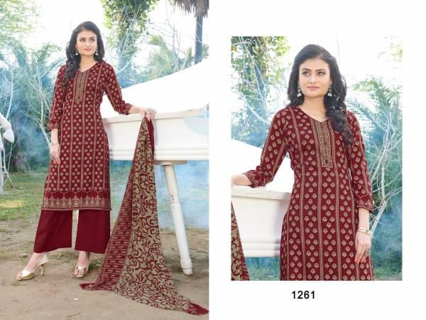 BIPSON KYRAA BLACK Latest Designer Fancy Regular Wear Pure Cotton Designer Printed Salwar Suit Collection