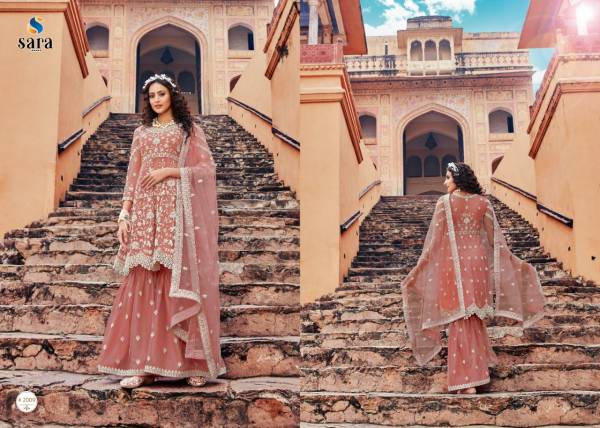 Heer 2007 Series Fancy Festive Wear Butterfly Net with Front and Back heavy Embroidery Work Salwar Kameez Collection