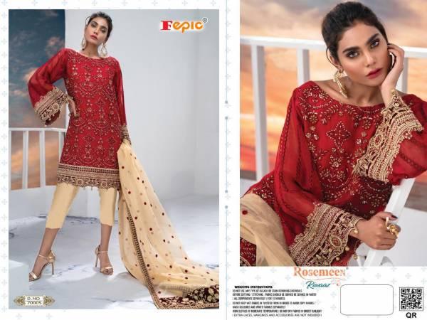 Fepic Rosemeen Riwaaz Latest Exclusive Collection Designer Pakistani Suits