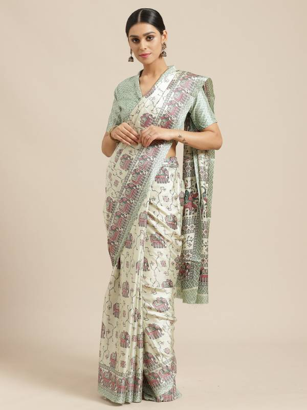 Latest Designer Party Wear Casual Wear Manipuri Silk Saree Collecion