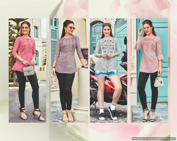 Lymi Autograph Nx New Collection Of Cotton Short Tops