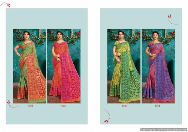 Saroj Monisha Latest Collection Of Regular Wear Cotton Saree