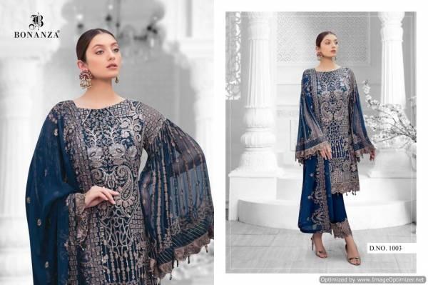 Bonanza Ramsha Allifa Vol-1 Latest Pakistani Heavy Designer Suit Collection