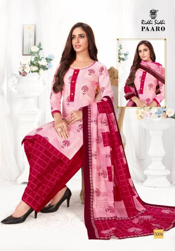 Ridhi Sidhi Paaro Vol 3 Latest Designer Cotton Printed Dress Material Collection
