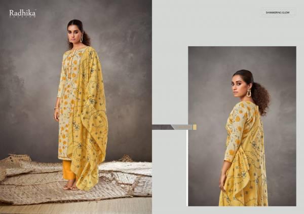 Azara Radhika Blossom 3 Printed Cotton Casual Wear Designer Dress Material Collection
