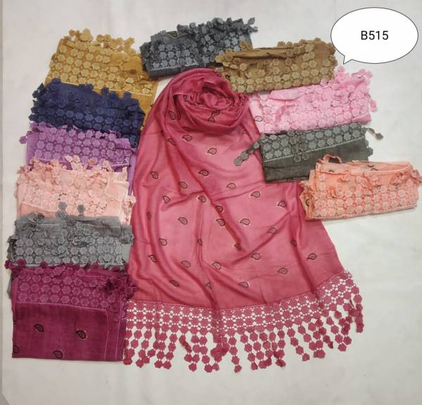 B515 Fancy Hijab Collection