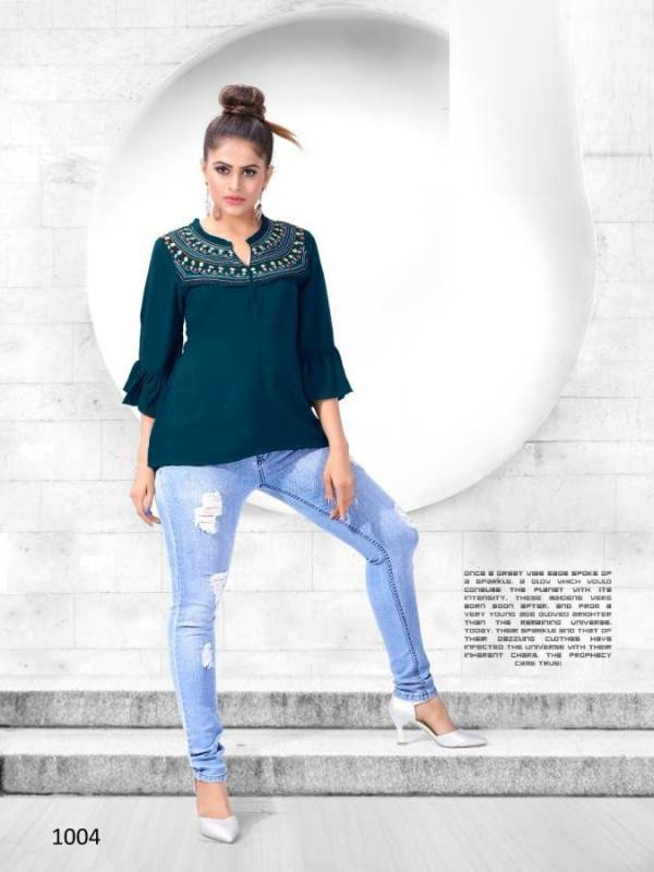 Exclusive Designer Party Wear Short Top Collection