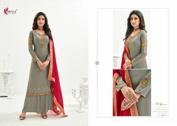 KESARI RAJOO VOL-1 Latest fancy Festive Wear Heavy Jam Silk With Embroidery Work Heavy Designer Salwar Suit Collection