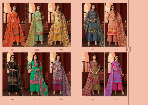 Jash eliza 5 Printed Casual Regular Wear Pure Cotton Collection