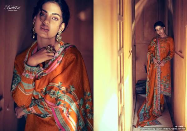 Belliza Riwayat Heavy Designer Kashmiri Work Pure Pashmina Salwar Suit Collection