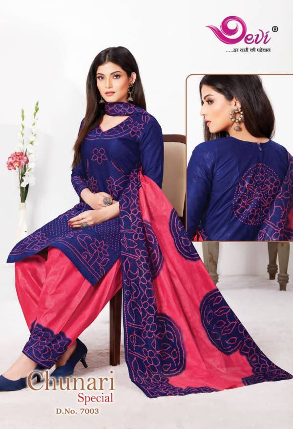 Devi Chunari Special 7 Latest Fancy Designer Casual Wear Printed Cotton Collection