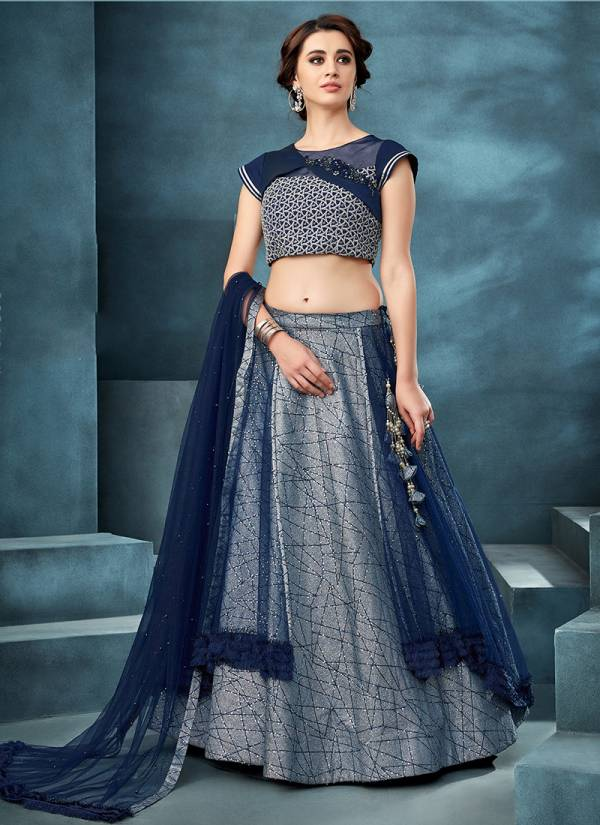 Latest Collection of Party Wear Lehenga Choli With Net Dupatta