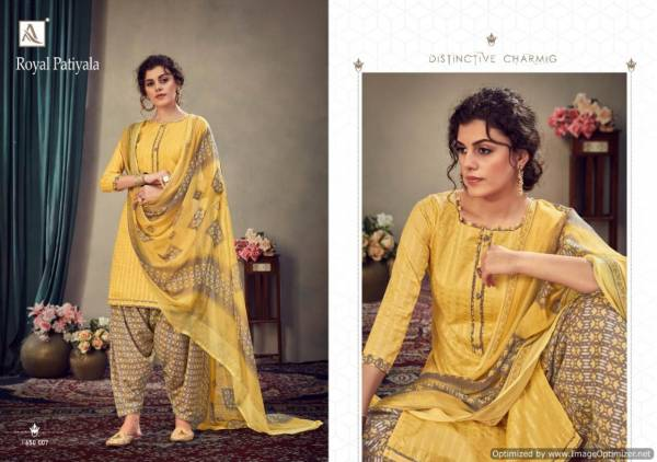 Presenting New Collection Of Designer Dress Material With Neck Pattern