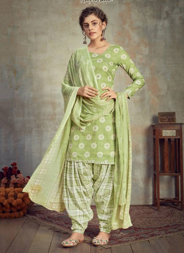 Saabira Cambric Cotton New Fancy Designer Party Wear Punjabi Suits Collection 627-001 To 627-008