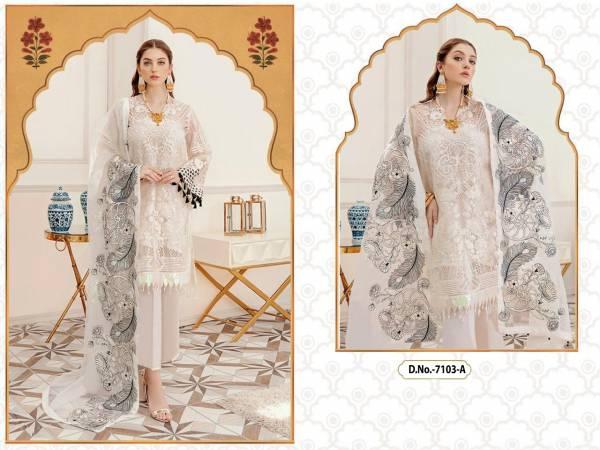 Kb Super Hit 512 Colors Latest fancy Designer Festive Wear Heavy Georgette Pakistani Salwar Suits Collection