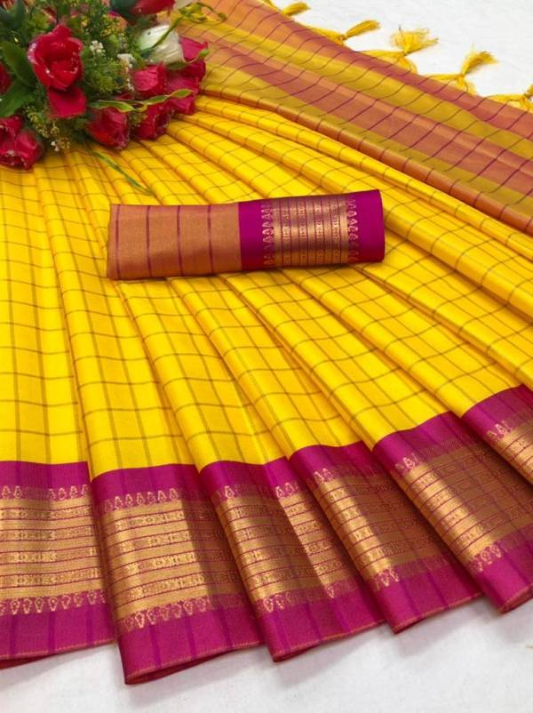 Maahi 7 Latest Fancy Designer Casual Wear Designer Soft Silk Saree Collection