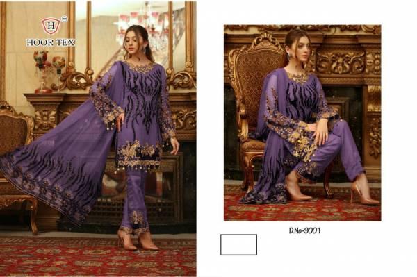 Hoor Tex Pakistani designer HEAVY GEORGETTE  party wear dress material