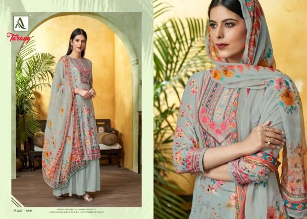 Alok Tarang Winter Collection Of Pure Wool Pashmina Dress Material