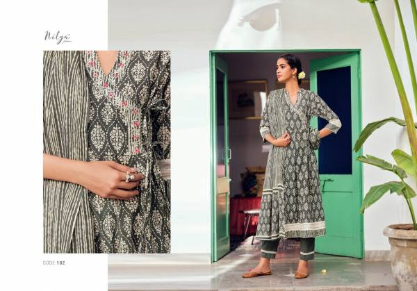 Lt Nitya Kasak Latest Fancy Casual Wear Designer Exclusive Cotton Print With Hand Work Ready Made Collection