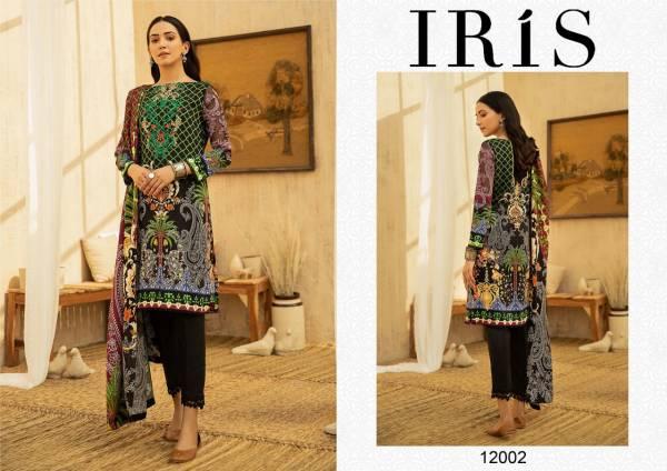 Iris 12 Cotton Karachi Dress Pure Cotton Casual Wear Ready Made Collection