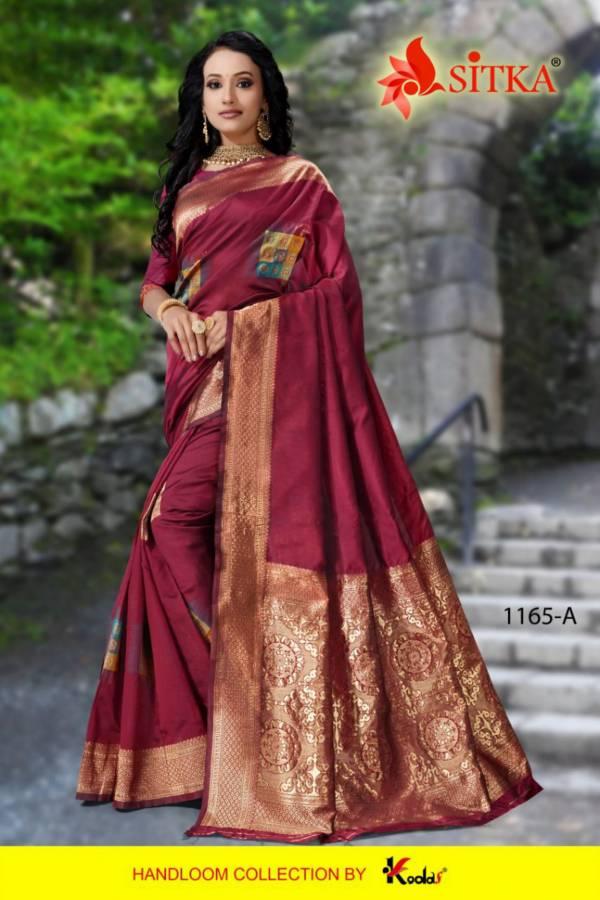 Rich Look Party Wear Designer Cotton Silk Saree Collection