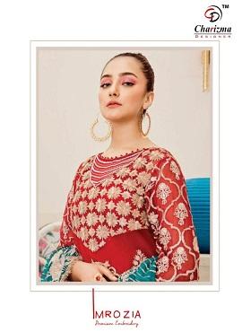 Charizma Imrozia Latest Pakistani Salwar Suit Collection With Heavy Embroidery Work