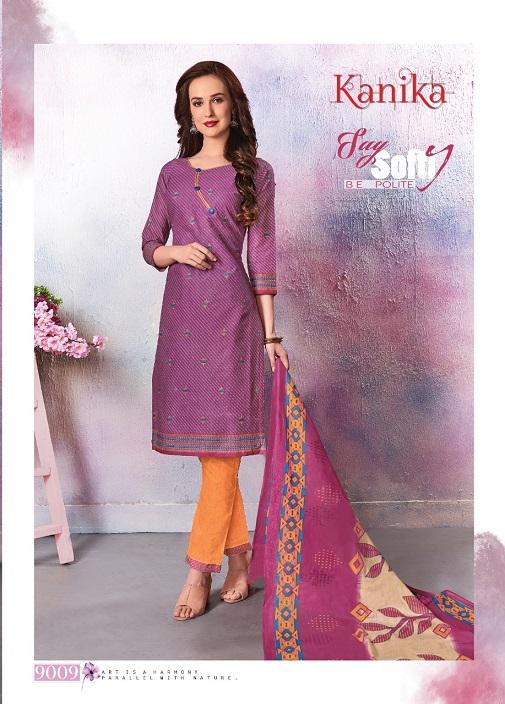 Ganesha Kanika 9 Latest Designer Daily Wear Pure Cotton Dress Material