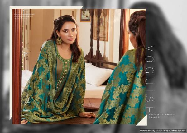 Kessi Asopalav 15 Latest Designer Festive Wear Jam Silk Embroidery Work Salwar Suit Collection With Banarasi Silk Dupatta